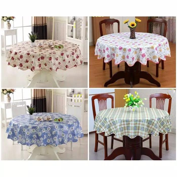 Table Cloth Waterproof Code Mh, Round Table Cover