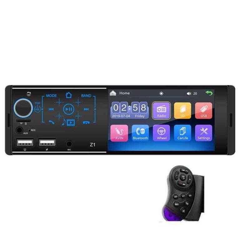 Tape Audio Mobil Media Player MP5 Bluetooth Touch Screen - Z1 TItanGadget