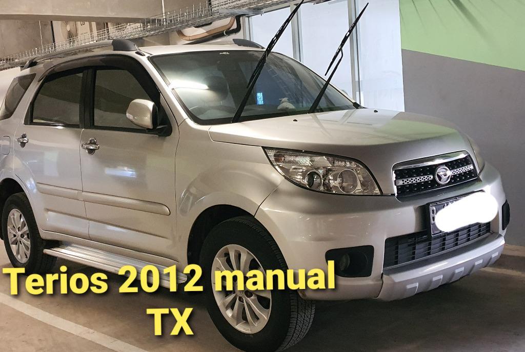 terios TX 2012 manual