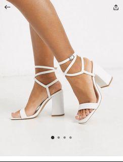 ASOS block heels size 7