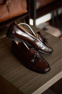 Cole Haan Tassel Loafers Leather Shoes