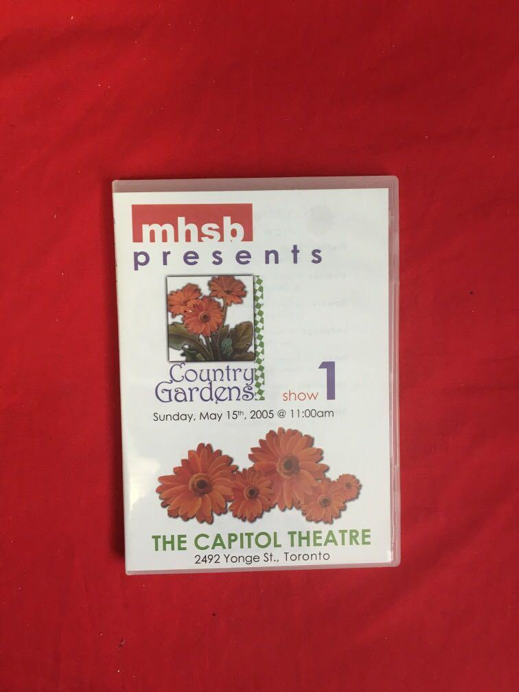 Country gardens show DVD