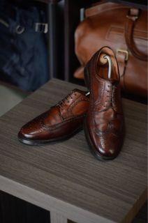 Florsheim Wingtip Blucher Leather Shoes