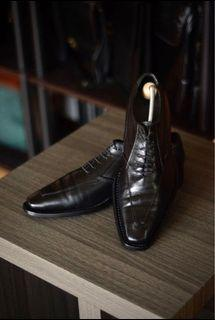 Giano Oxfords Leather Shoes