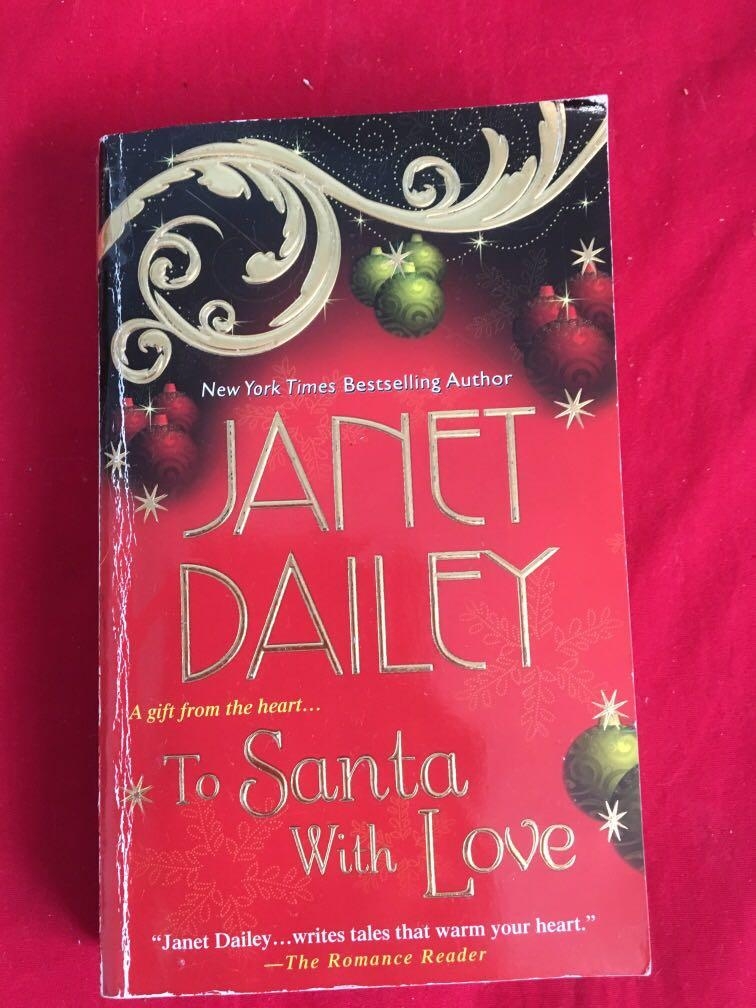 Janet Dailey to Santa with love book