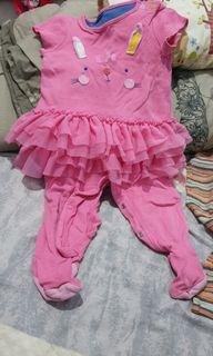 Jumpsuit pink mother care