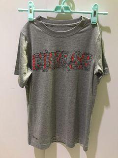 Kaos Nike abu-abu 8-10 tahun
