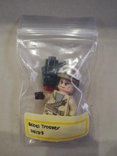 Lego Minifigure Rebel Trooper 100% Authentic