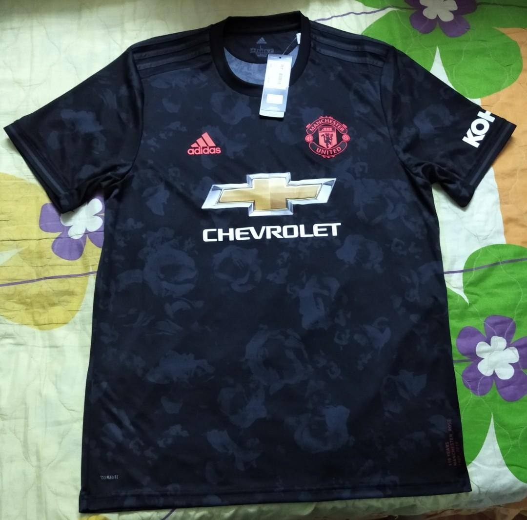manchester united 3rd kit 2019 20 sports athletic sports clothing on carousell manchester united 3rd kit 2019 20
