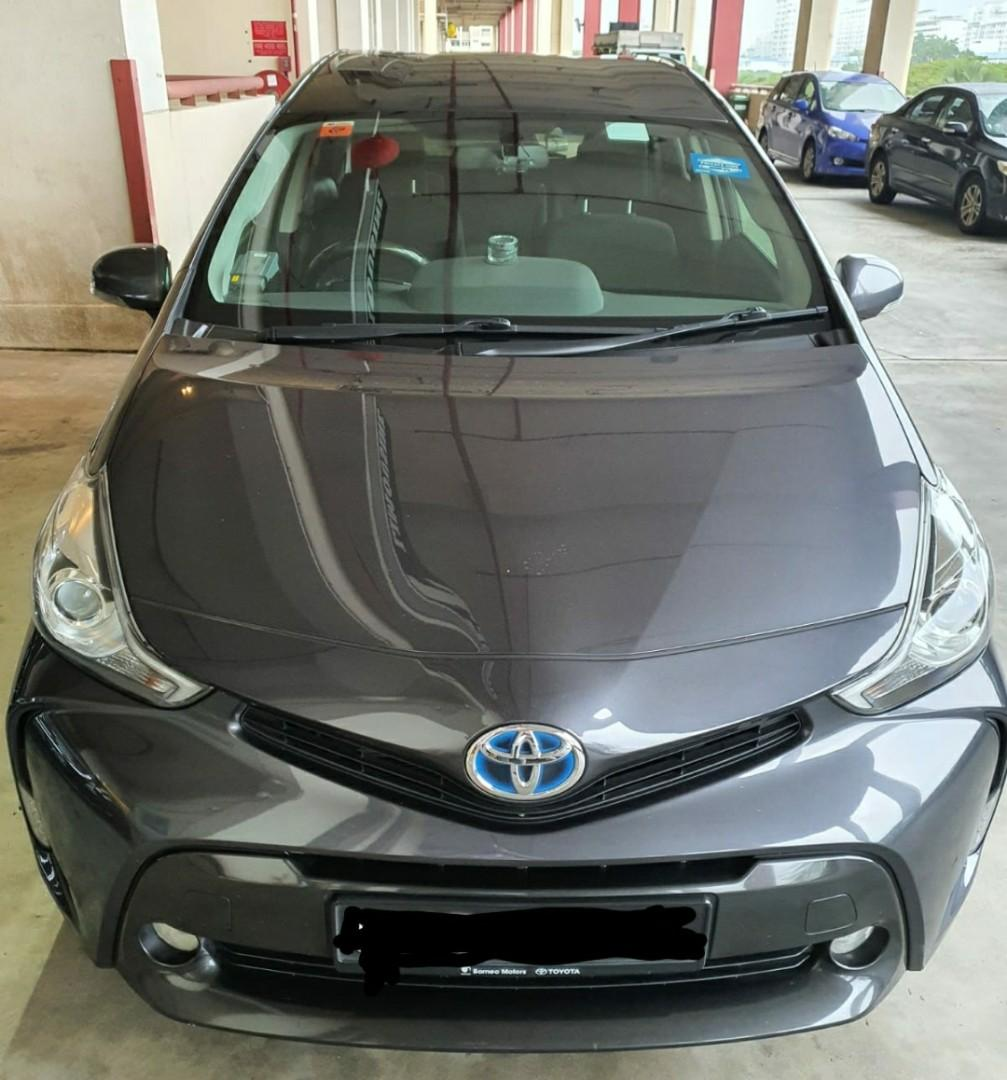 Toyota Prius+ Hybrid 7-seater (PHV/Delivery/Personal)