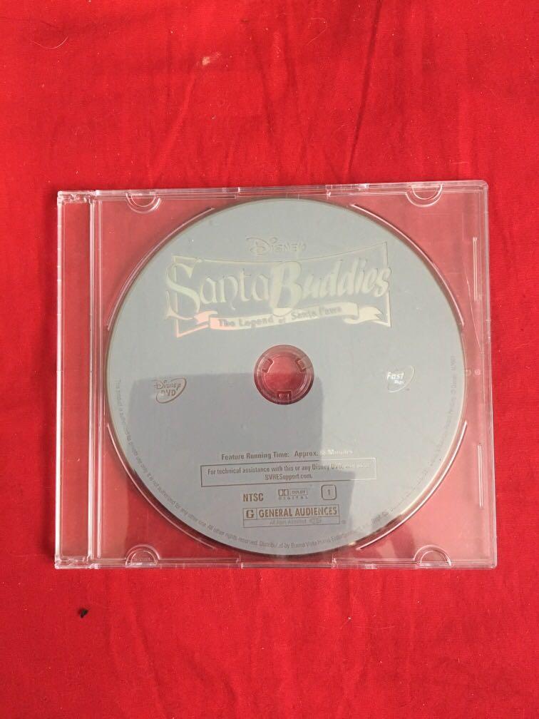 Santa buddies movie DVD