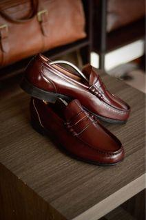 Timberland Penny Loafers Leather Shoes
