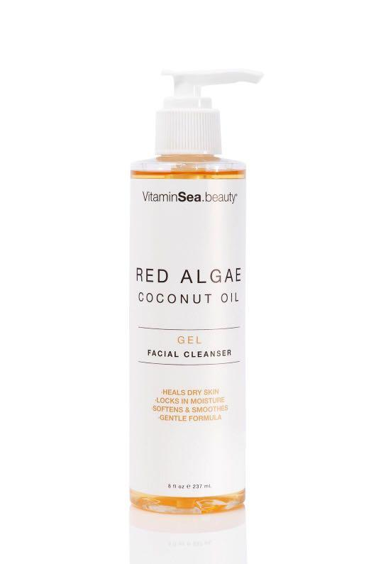 VitaminSea Red Algae & Coconut Oil Gel Facial Cleanser