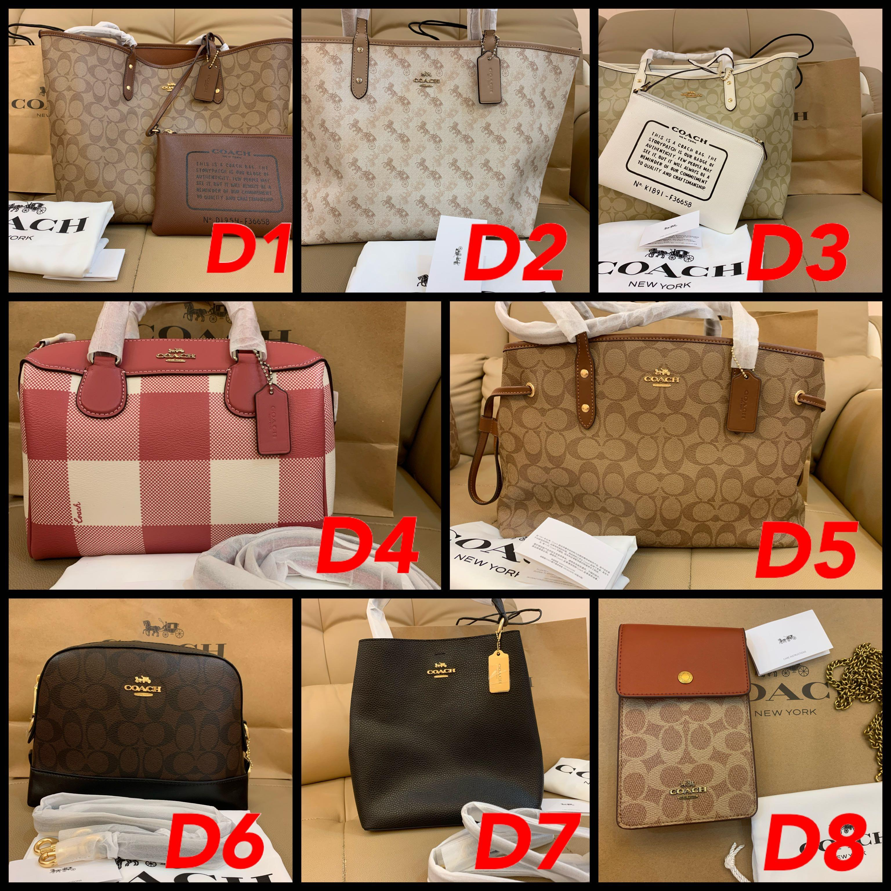 (20/06/20)Ready Stock authentic coach women bag wallet purse  sling bag Tory Burch backpac belt bag woc permanent listingggbfgvvbbbbbbb