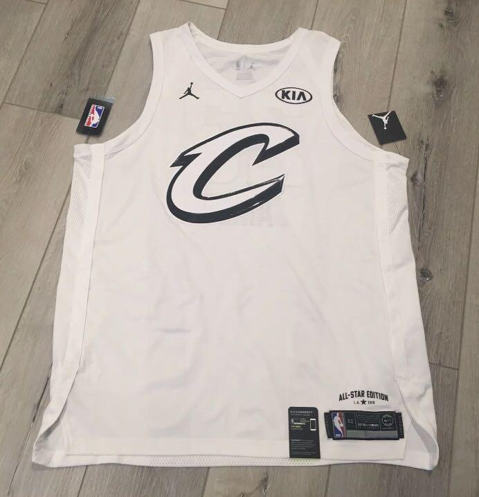 徵LeBron James 2018 all star jersey, 運