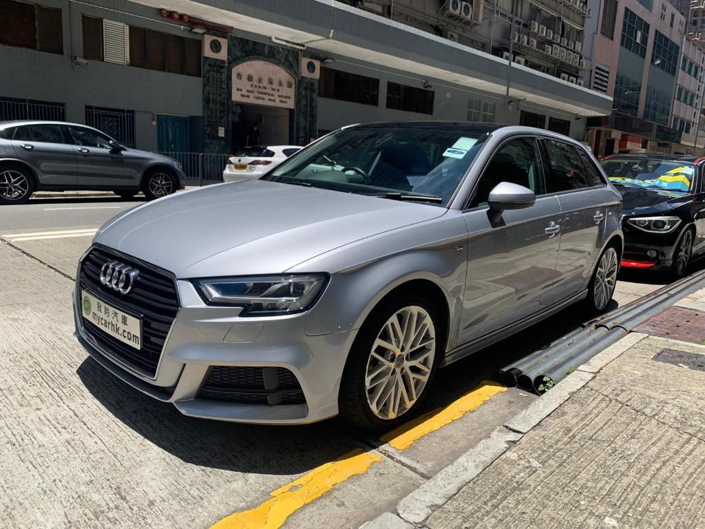 Audi A3 35TFSI SPORTBACK售價HK$178,000 月供HK$3,486 x 60期 Auto