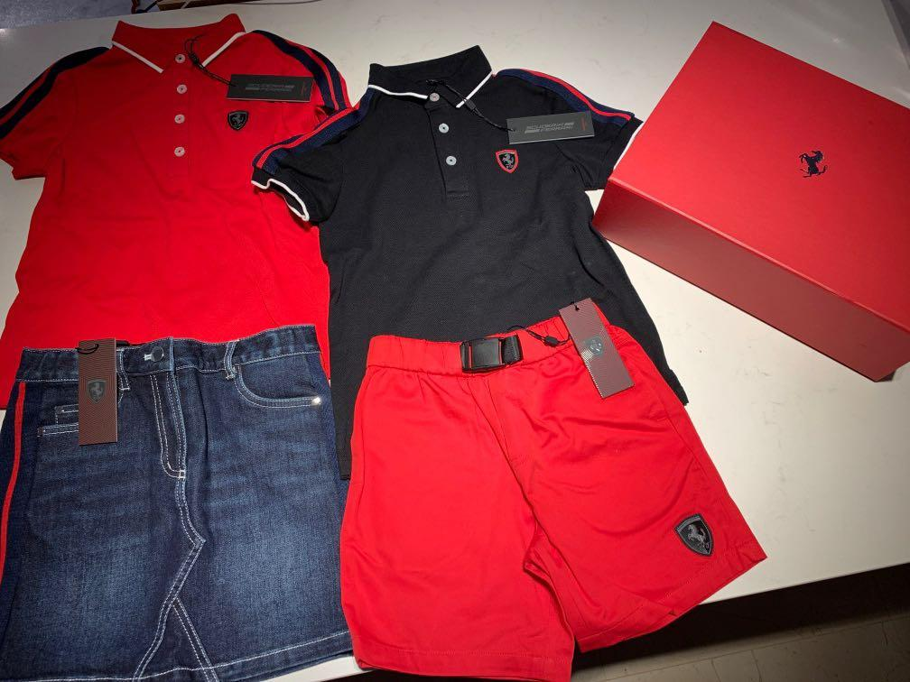 Authentic Ferrari Apparel For Kids Babies Kids Boys Apparel 4 To 7 Years On Carousell