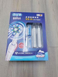 百靈歐樂B電動牙刷雙握柄組 (SMART3500) 好市多代購 可連手機藍芽
