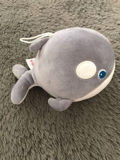 boneka ikan miniso lembut