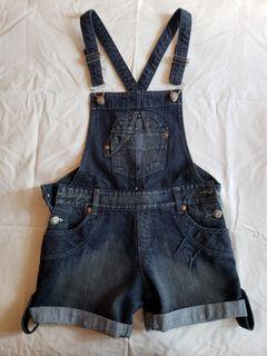Denim Shortalls/Overalls