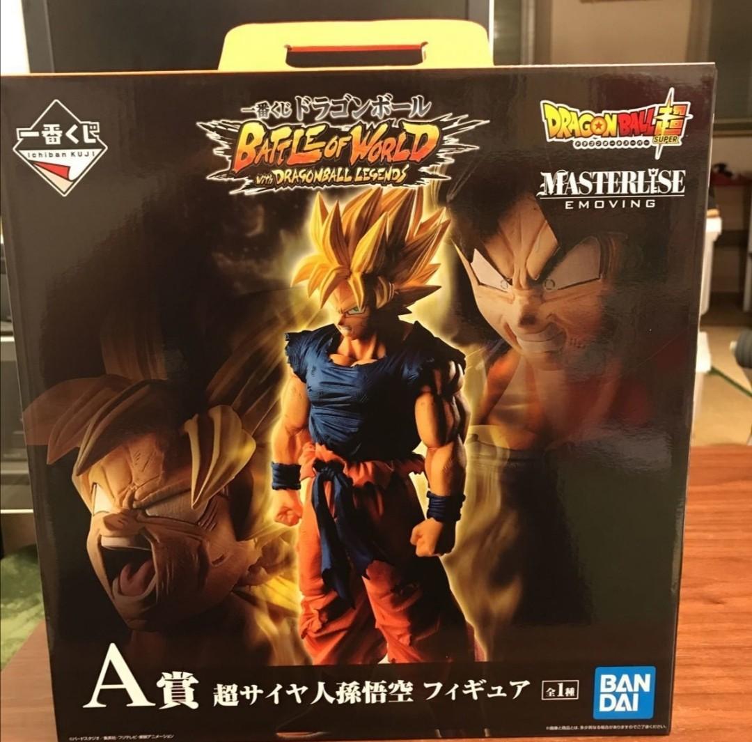 Dragon Ball Ichiban Kuji Dokkan Battle F Goku//Gokou Black Rose figure JAPAN 2020