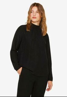 ESPRIT long sleeve jacquard shirt