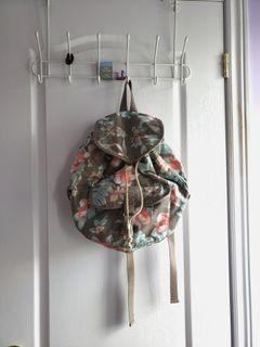 Floral Mid-sized Backpack