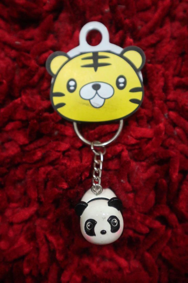 Gantungan kunci Panda Souvenir Taiwan