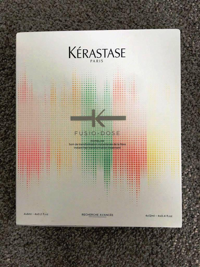 Kerastase Fusio Dose Homelab Booster Discipline 4x12ml