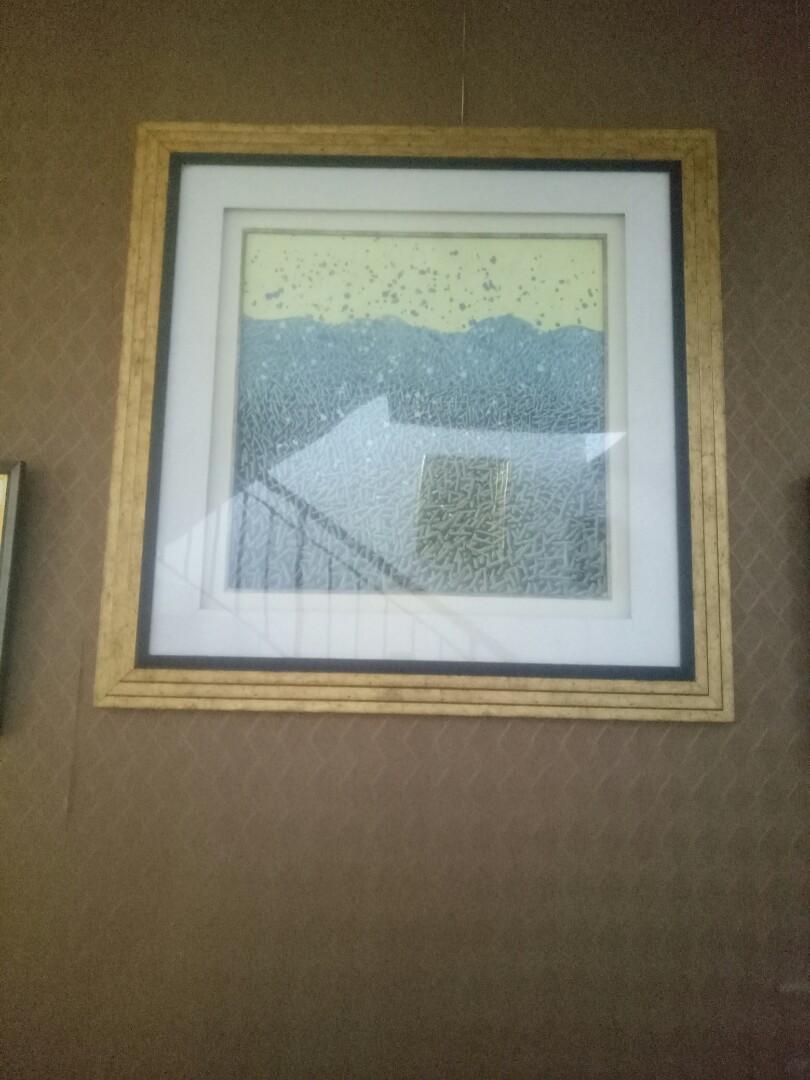 Lukisan kanvas