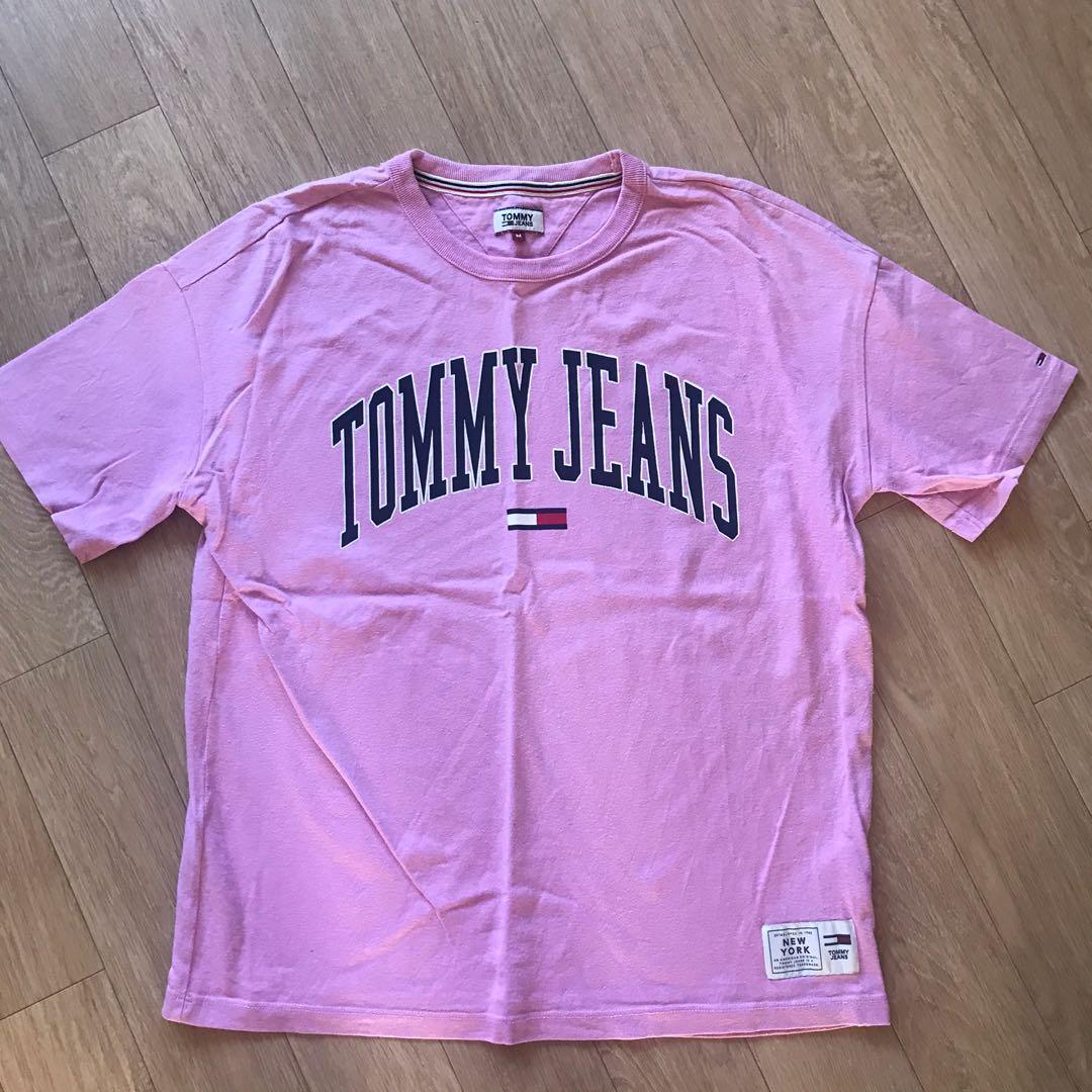 Tommy hilfiger pink t shirt top