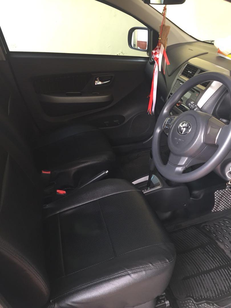 Toyota agya 1.2G matic thn 2018