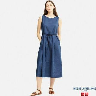 Uniqlo Long Linen Dress