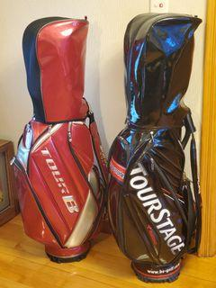 $780 each Tourstage Bridgestone golf bag