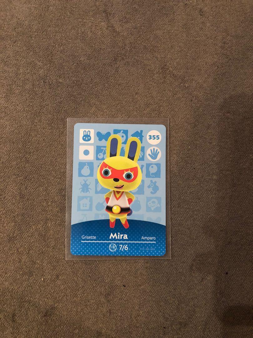 [當天發貨][現貨][動物森友會  ]全新  未掃過官方正版 美版 amiibo卡 蜜拉 Mira 355