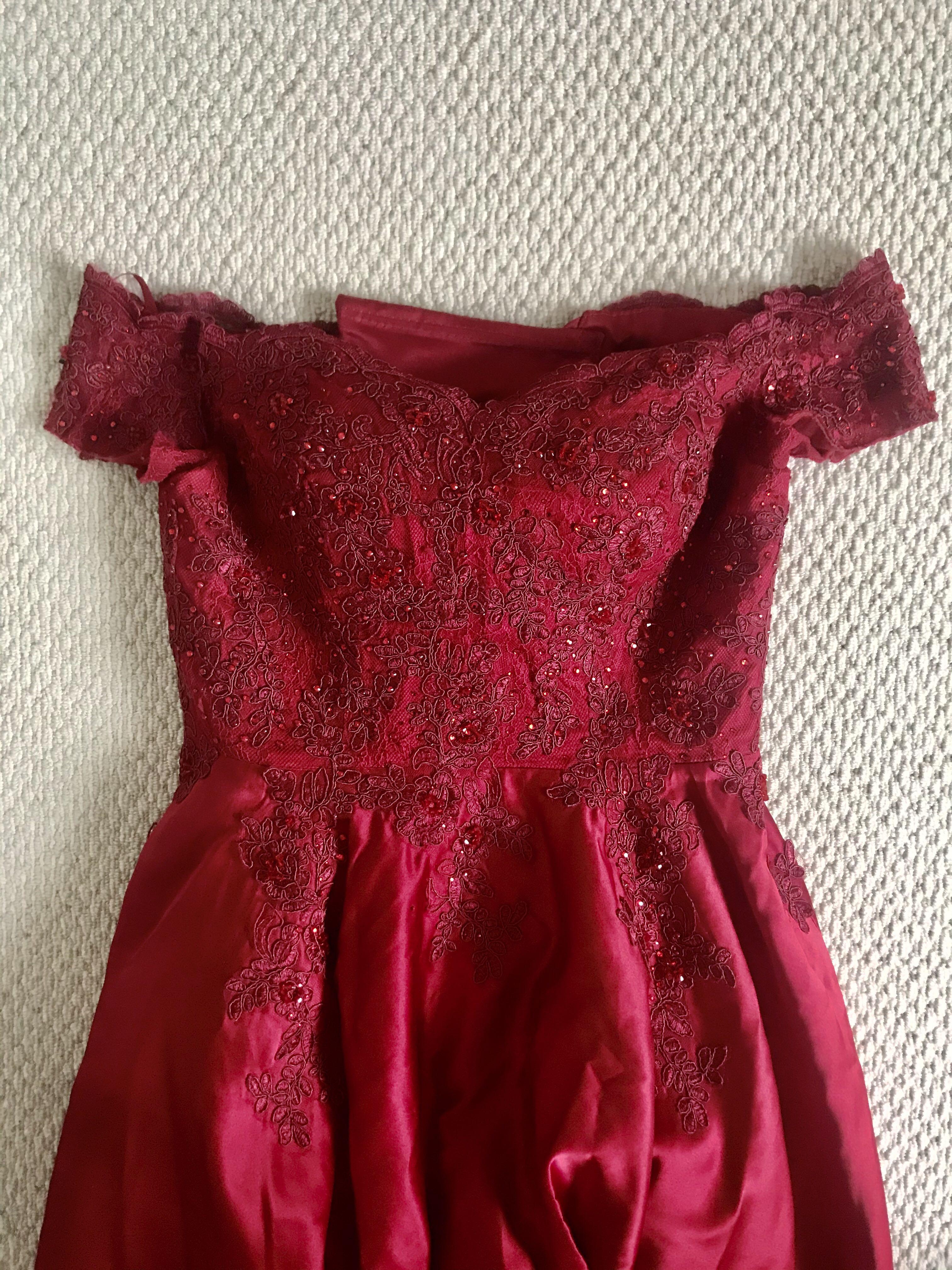 ball dress size 12-14