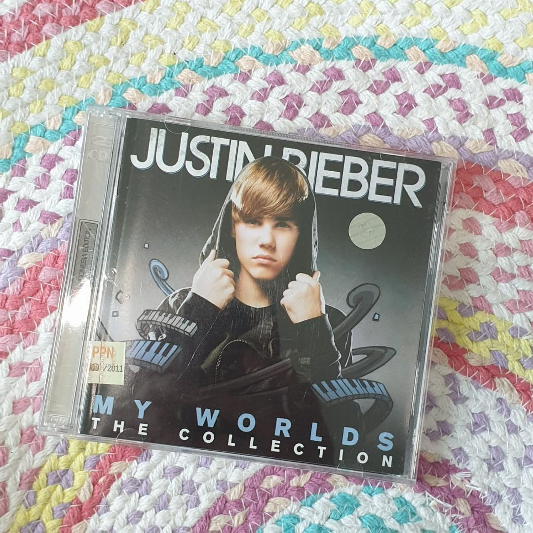CD Lagu Original - Justin Bieber - My Worlds (2 Discs)