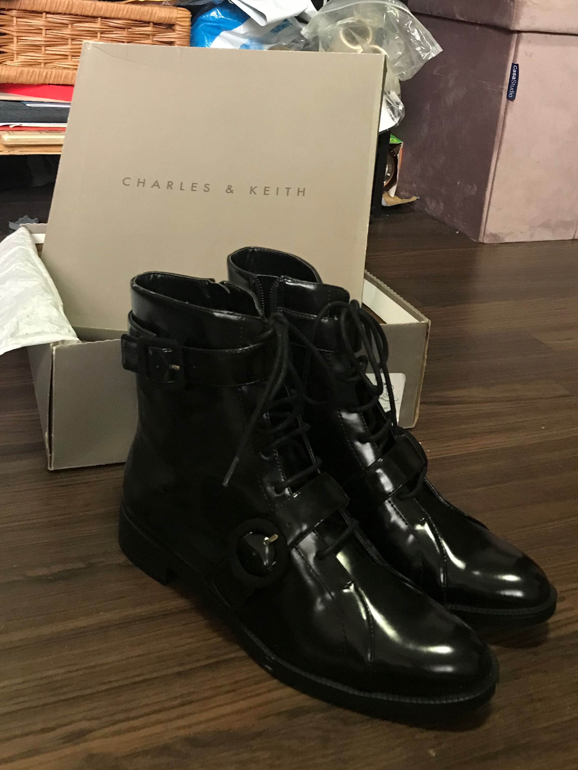Charles \u0026 Keith Boots, Women's Fashion