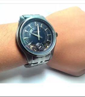 Fossil 石英機械錶,非DieseL,天梭