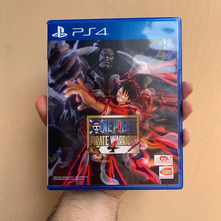 KASET PS4 BD PS4 DLC UTUH! ONE PIECE PIRATE WARRIORS 4 WARRIORS 3 WORLD SEEKER