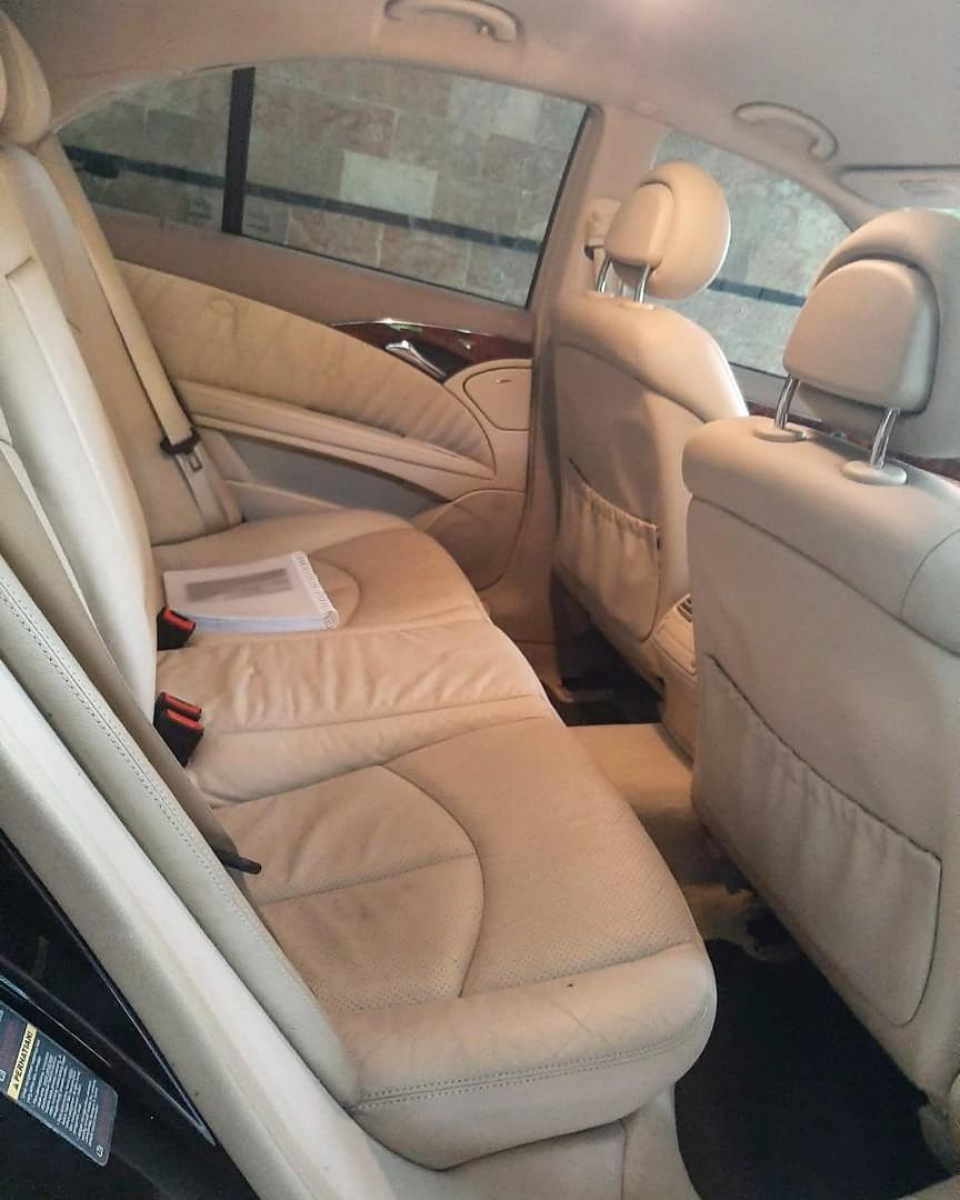 Mercedes-benz E260 cbu black on beige