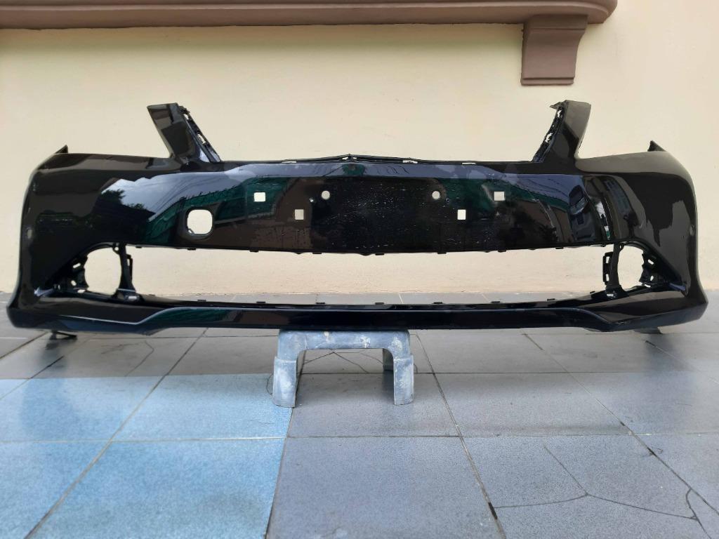 MURAH! ORIGINAL Bumper front TOYOTA CAMRY 2013 facelift black depan tanpa grill