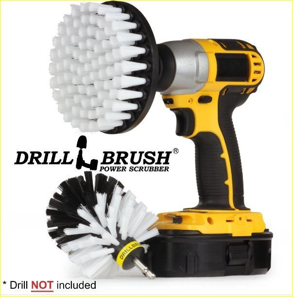 Original & 5'' Home & Auto Cleaning Power Brushes