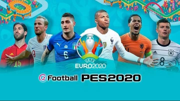 PES 2020 PS4 HEN 5.05 Full Update UEFA EURO Editions