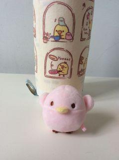 日本San-x粉紅小鳥