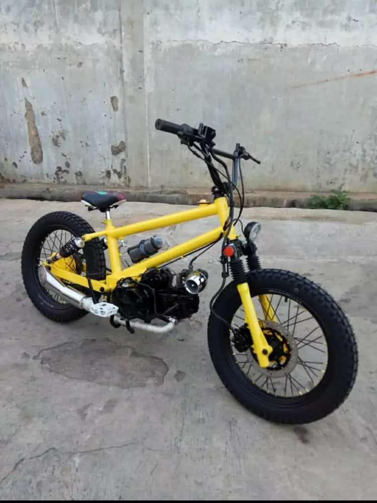 Sepeda Modif Motor Bmx Motor Di Carousell