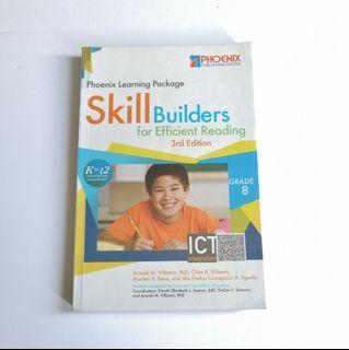 Skill Builders for Efficient Reading 3rd Edition - Grade 8 (Phoenix)