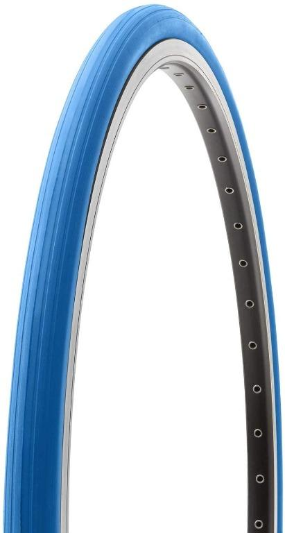 "Tacx 60TPI Trainer Bicycle Tire, Blue (27.5"" x 1.25"")"