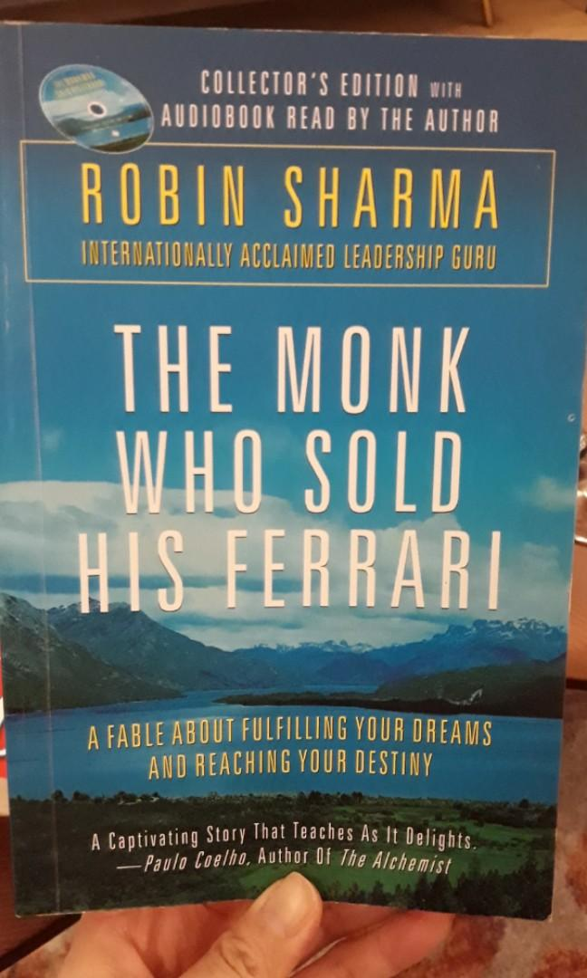 The Monk Who Sold His Ferrari By Robin Sharma Books Stationery Non Fiction On Carousell