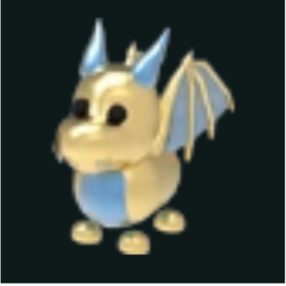 Golden dragon from adopt me british dragon global anabolics